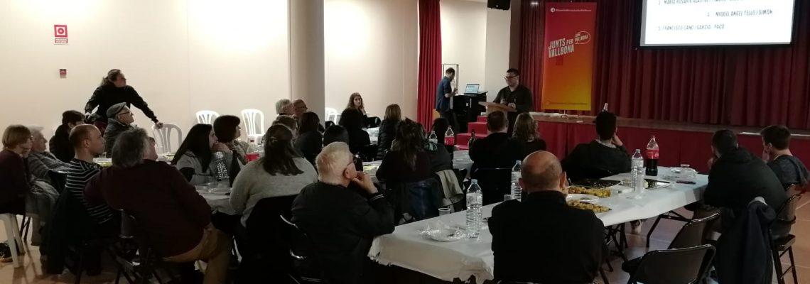 Pau Ter, presentació candidatura(públic)