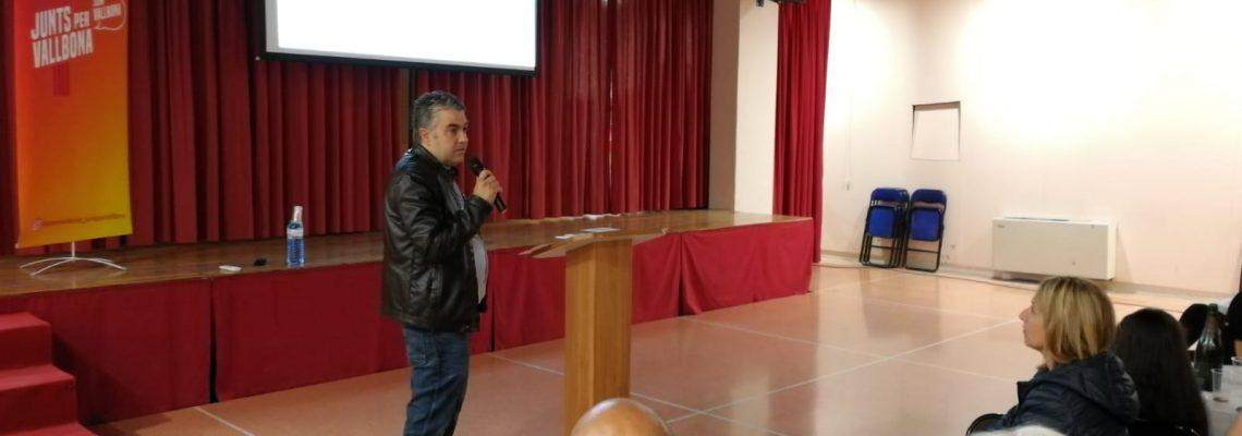 Pere Masagué, presentació 60 punts