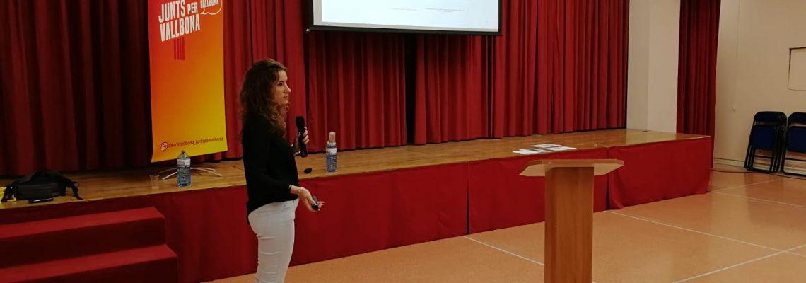 Jèssica Hernández, presentació antenes rf