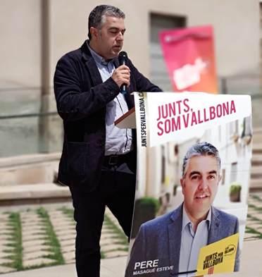 Pere Masagué - Acte central de campanya