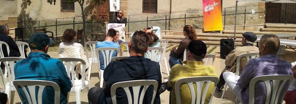 Joana Ortega - Acte central de campanya